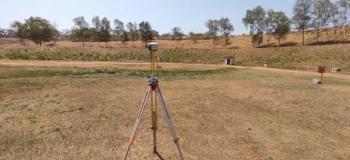 Levantamento planialtimétrico com drone